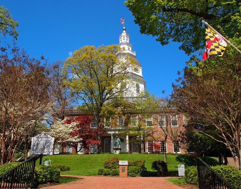 Chambre d'état du Maryland photos stock