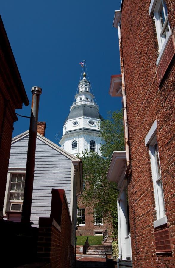 Chambre d'état du Maryland, Annapolis photographie stock libre de droits