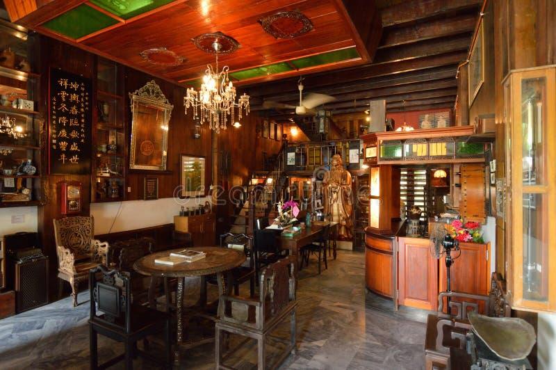 Chambre d'héritage - musée de Gopeng images libres de droits