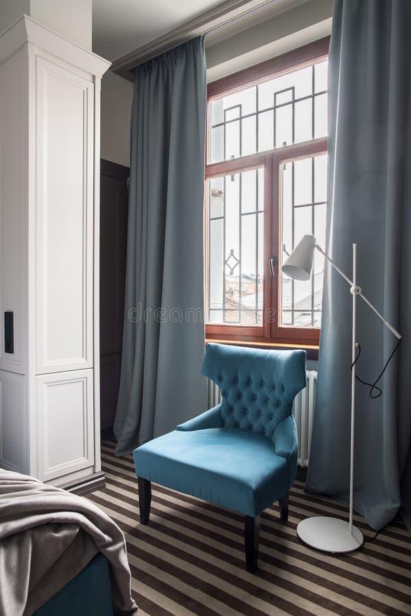 Chambre d'hôtel élégante photo stock
