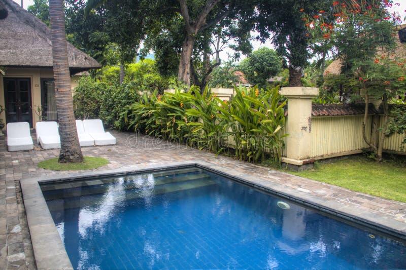 Chambre d'hôtel de fantaisie dans Bali, Indonésie photo stock