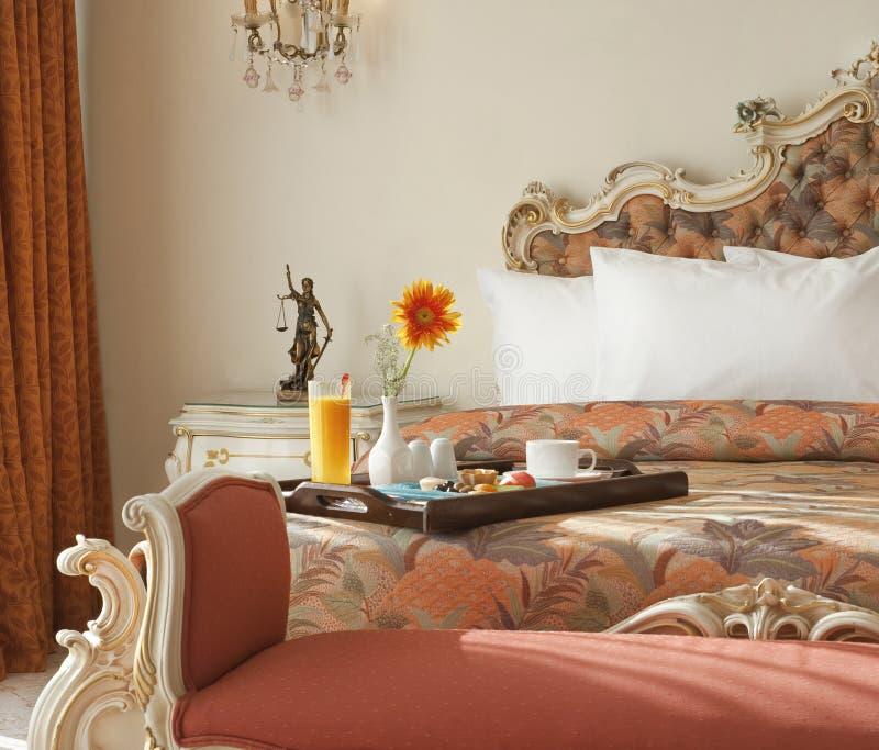Chambre d'hôtel de luxe photos libres de droits