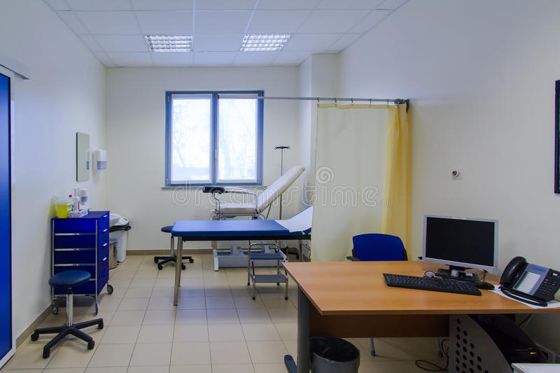 Chambre d'hôpital photo stock