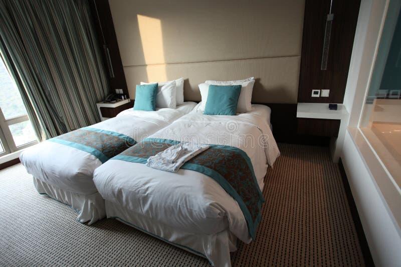 Chambre d'hôtel d'Auberge, baie de découverte, île de Lantau, Hong Kong image libre de droits