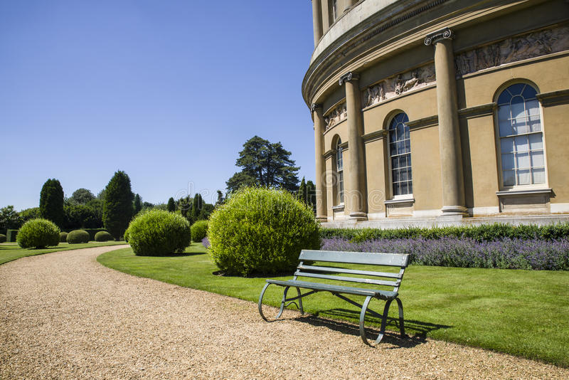 Chambre d'Ickworth en le Suffolk images libres de droits