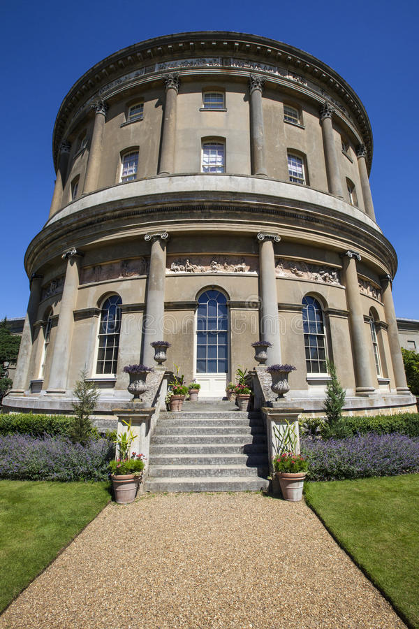 Chambre d'Ickworth en le Suffolk photographie stock