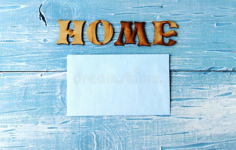 Chambre d'inscription sur un bleu images libres de droits