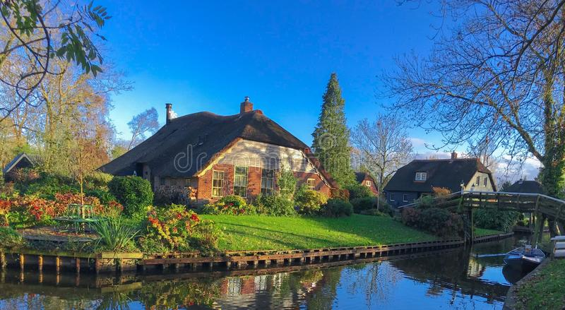 Chambre dans Giethoorn | Hollande, Pays-Bas image stock