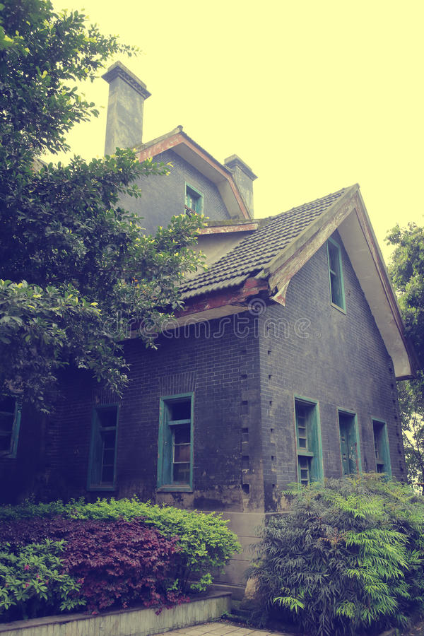 Chambre dans l'institut de Chongqing du socialisme images libres de droits