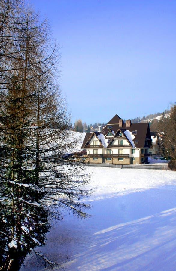 Chambre dans la montagne photos libres de droits