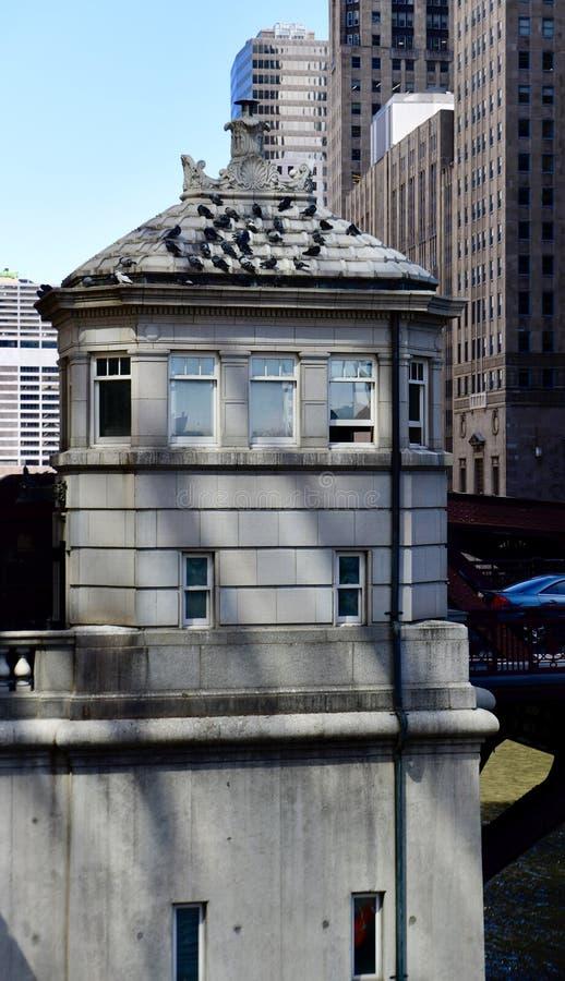 Chambre de €™s de Monroe Street Bridge Tenderâ image stock