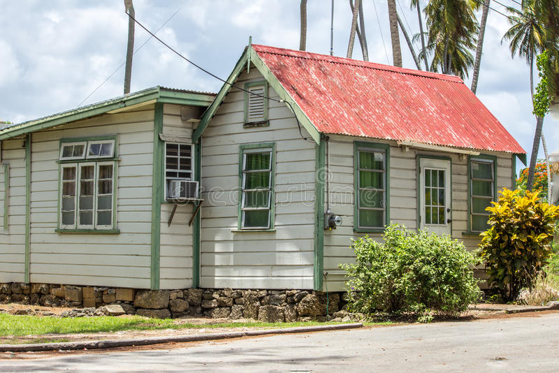 Chambre de bien mobilier des Barbade photographie stock