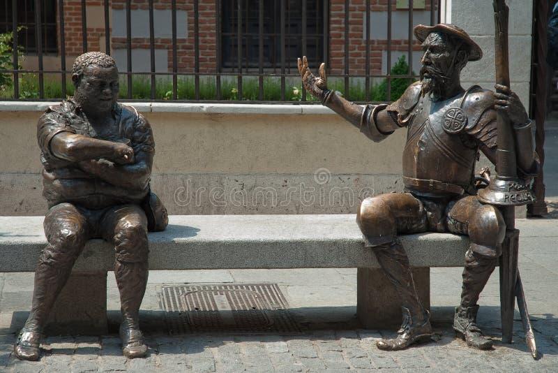 Chambre de Cervantes image libre de droits