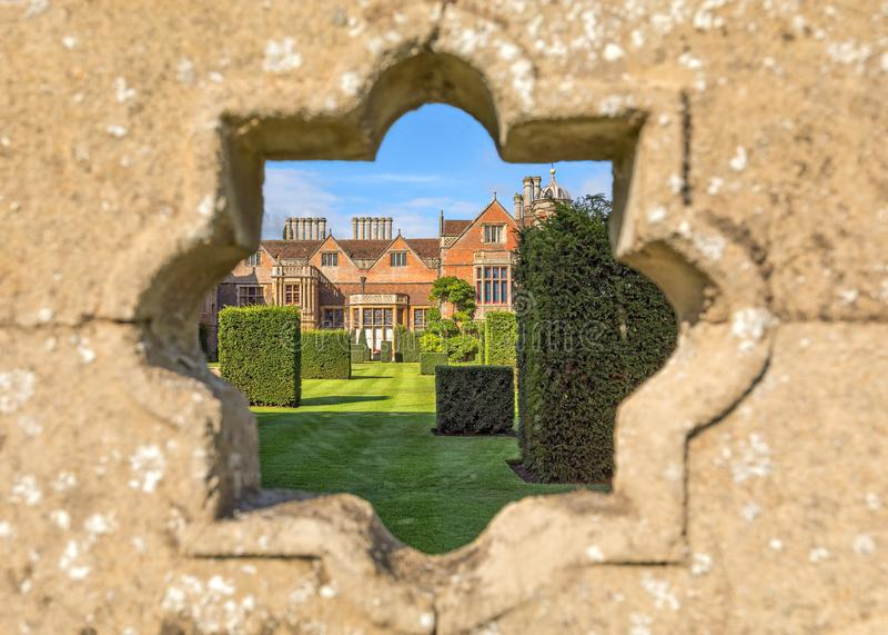 Chambre de Charlecote, le Warwickshire, Angleterre photo stock