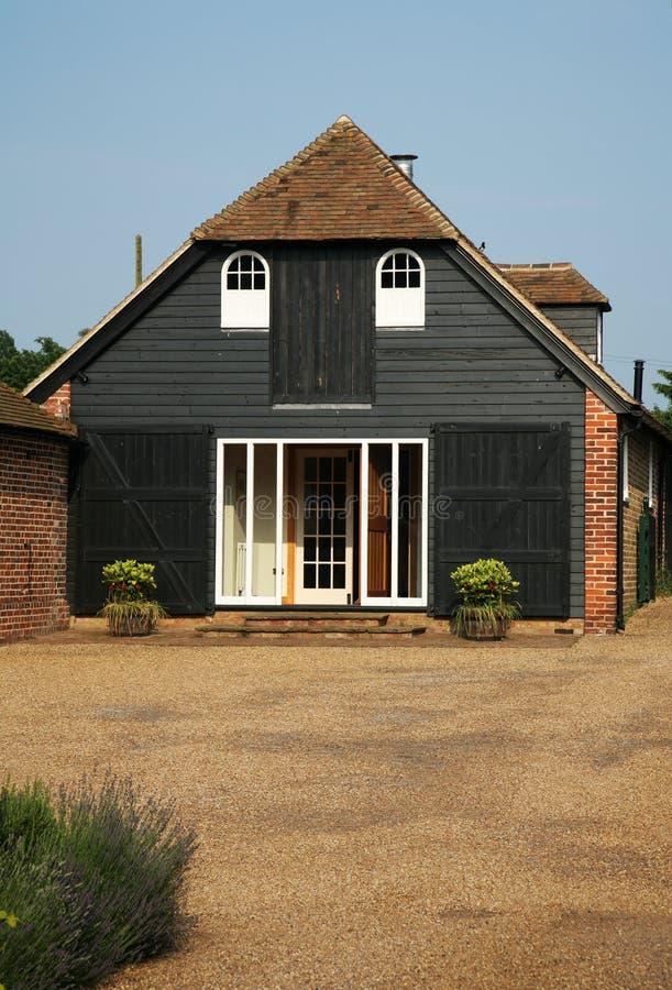 Chambre de conversion de grange photos stock