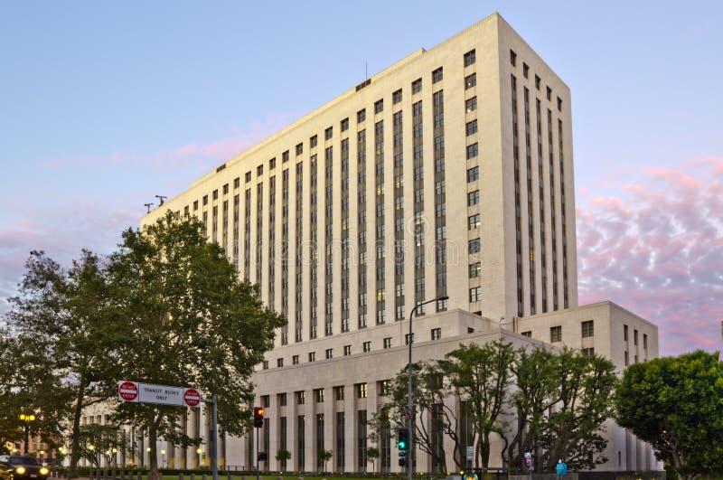 Chambre de cour des Etats-Unis à Los Angeles photo stock