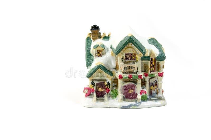 Chambre de décoration de Noël - 1 photo stock