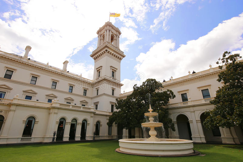 Chambre de gouvernement à Melbourne, Victoria images libres de droits