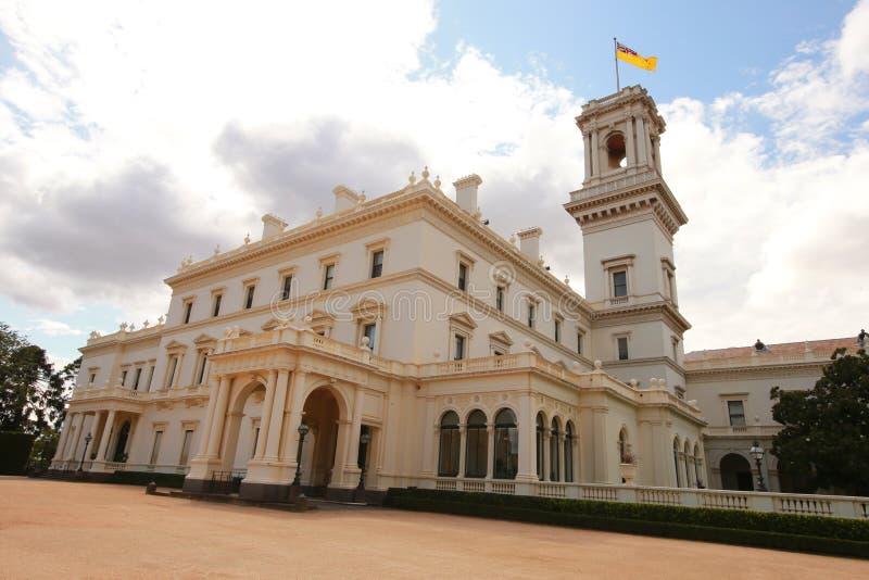 Chambre de gouvernement à Melbourne, Victoria image libre de droits