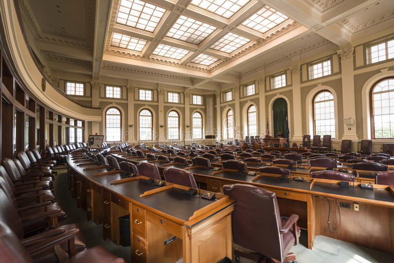 Chambre de gouvernement image libre de droits