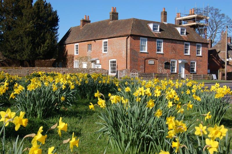 Chambre De Jane Austen, Chawton Photos libres de droits