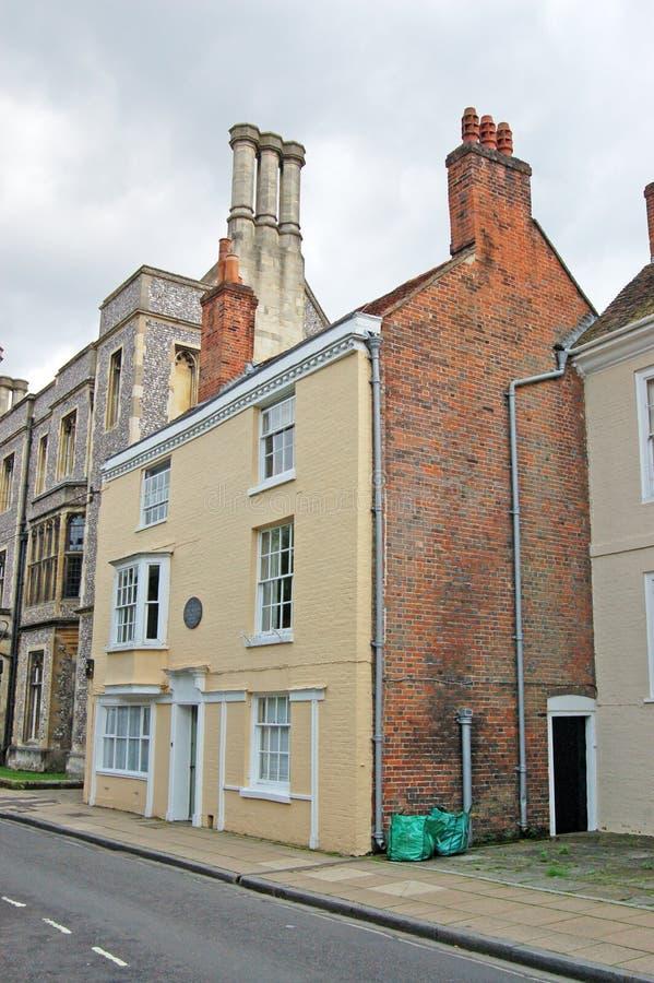 Chambre de Jane Austen, Winchester photographie stock