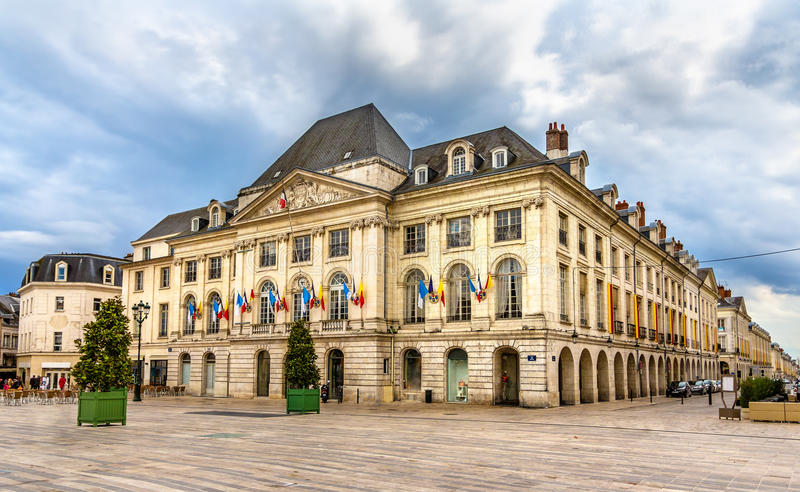 Chambre de kommers du Loiret i Orleans royaltyfri bild