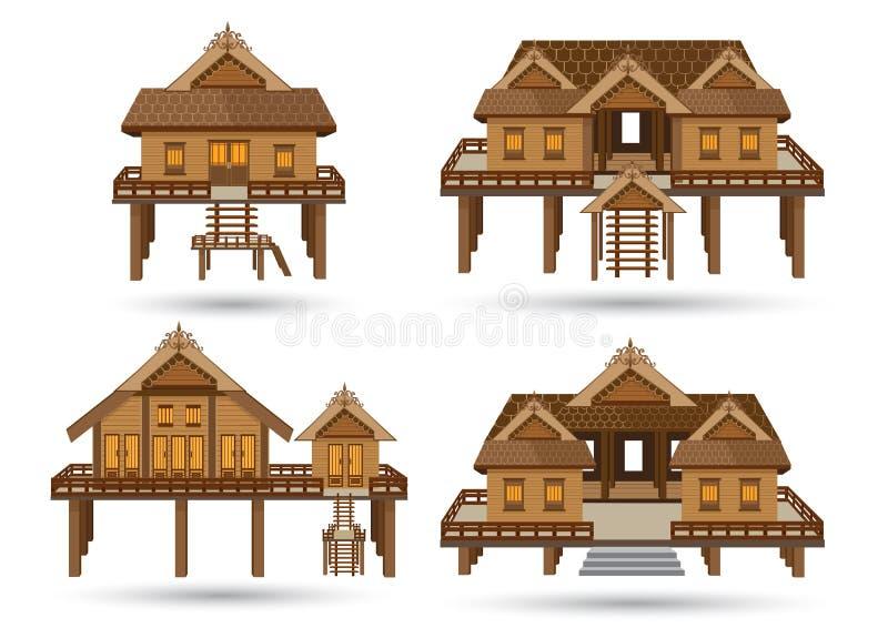Chambre de la Thaïlande du sud illustration stock