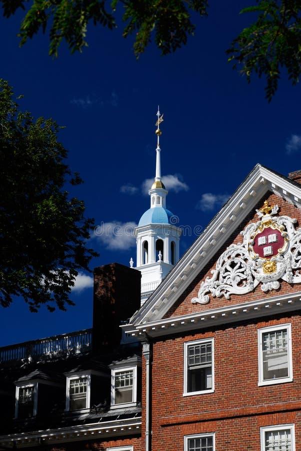 Chambre de Lowell, Harvard photographie stock libre de droits