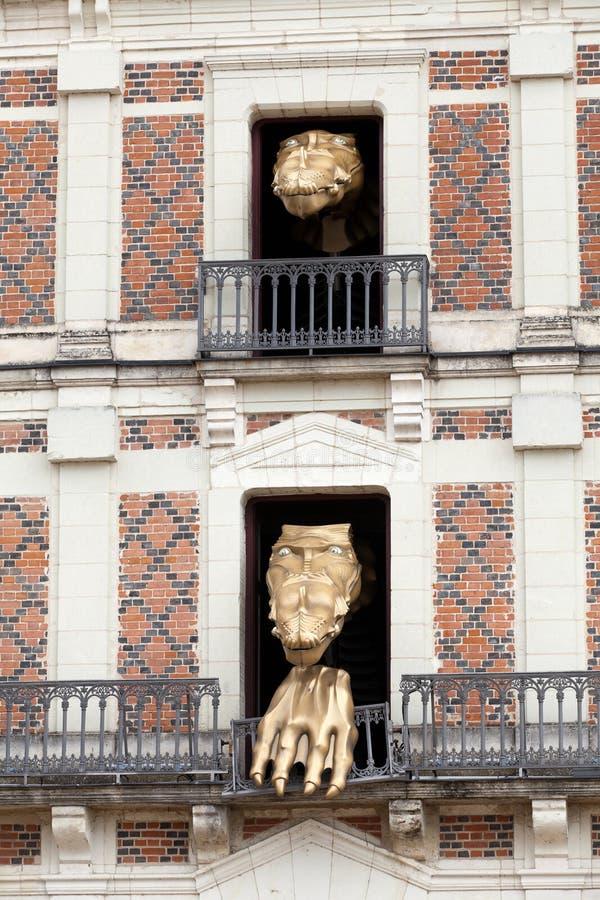 Chambre de magie près de château Blois image libre de droits