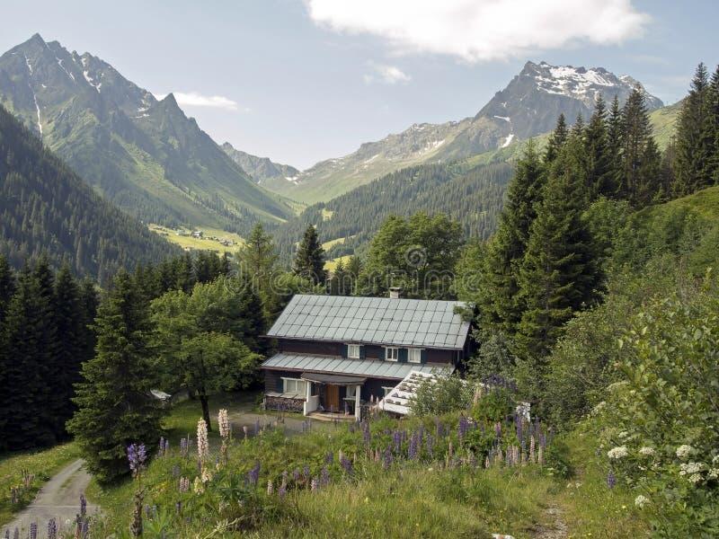 Chambre de montagne photo stock