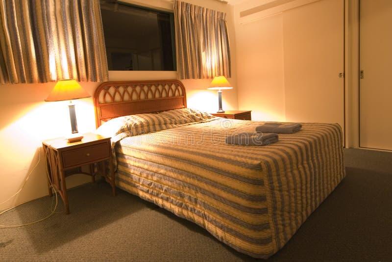 Chambre de motel de budget photographie stock