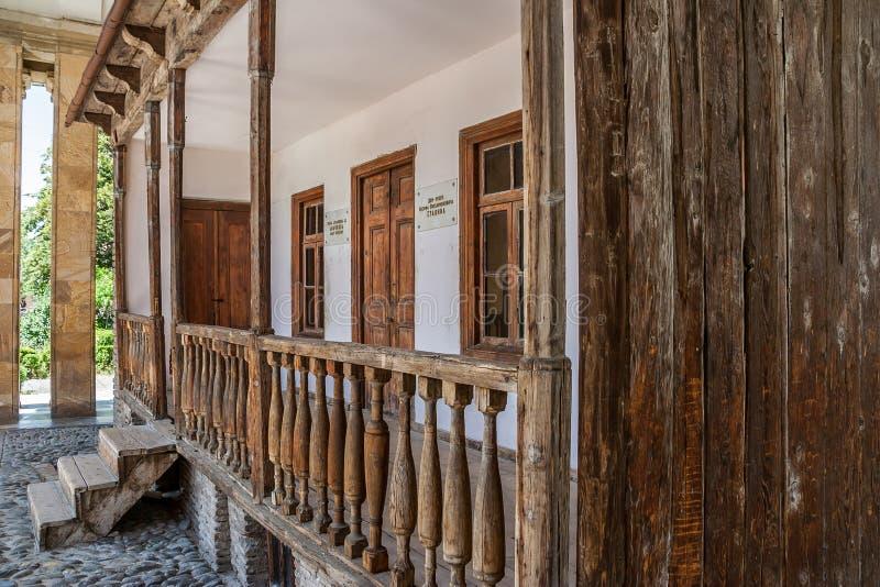 Chambre de naissance de Stalin dans Gori image stock
