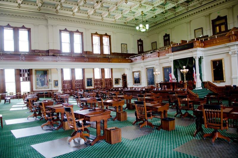Chambre de sénat du Texas photographie stock libre de droits