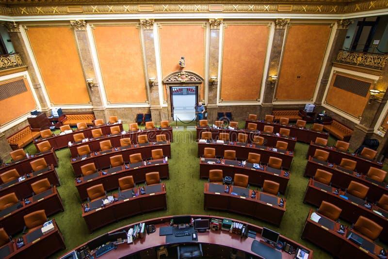 Chambre de sénat Utah image stock