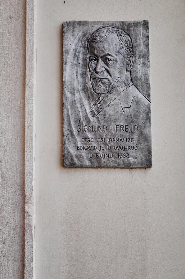 Chambre de Sigmund Freud, FENTE, CROATIE images stock