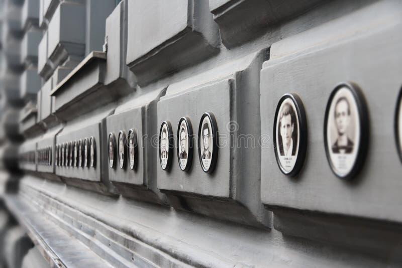 Chambre de terreur de Budapest photos stock