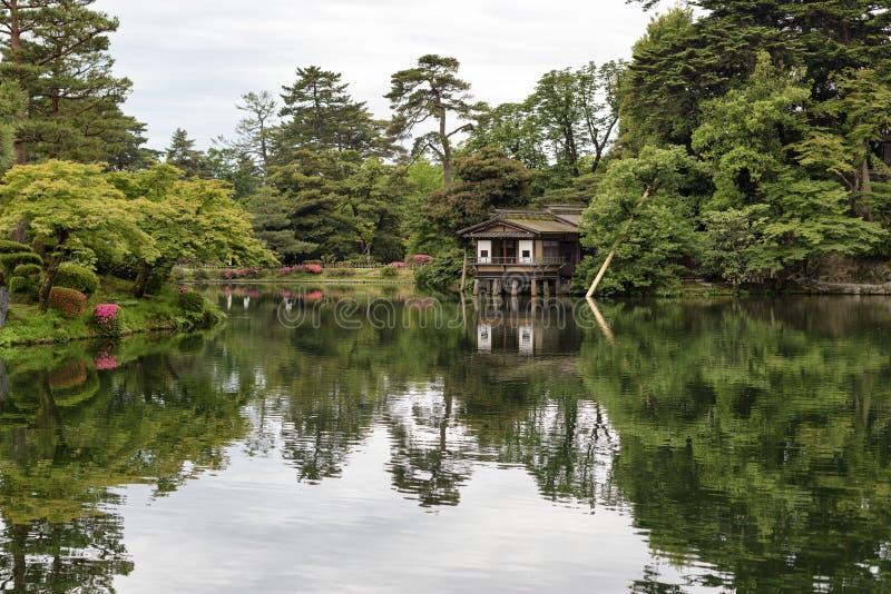Chambre de thé à Kanazawa photos libres de droits