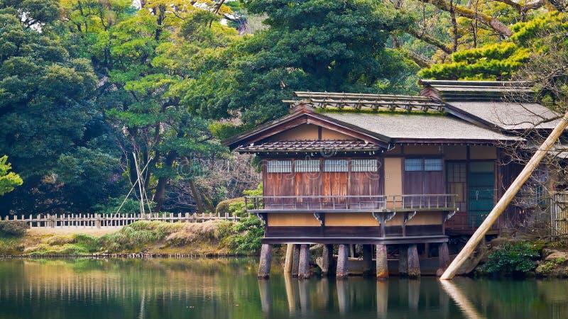 Chambre de thé d'Uchihashi-tei photo stock