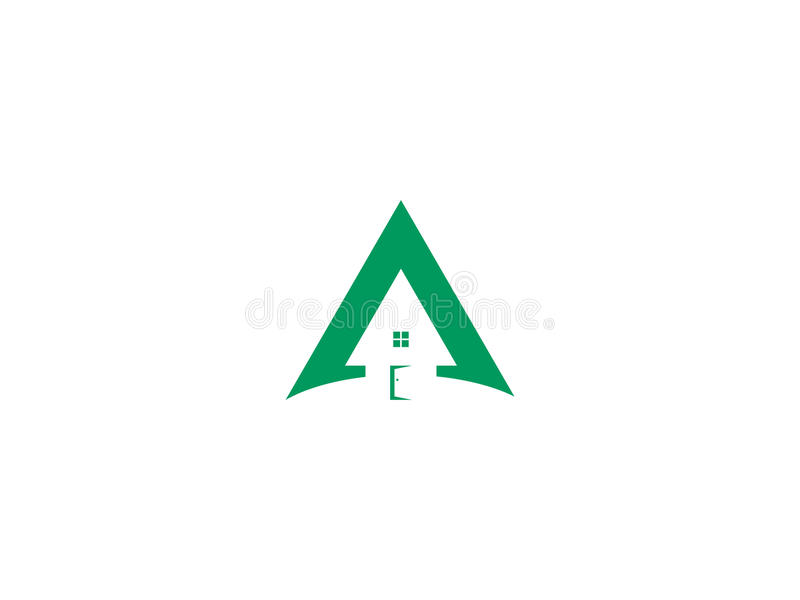 Chambre de triangle image libre de droits