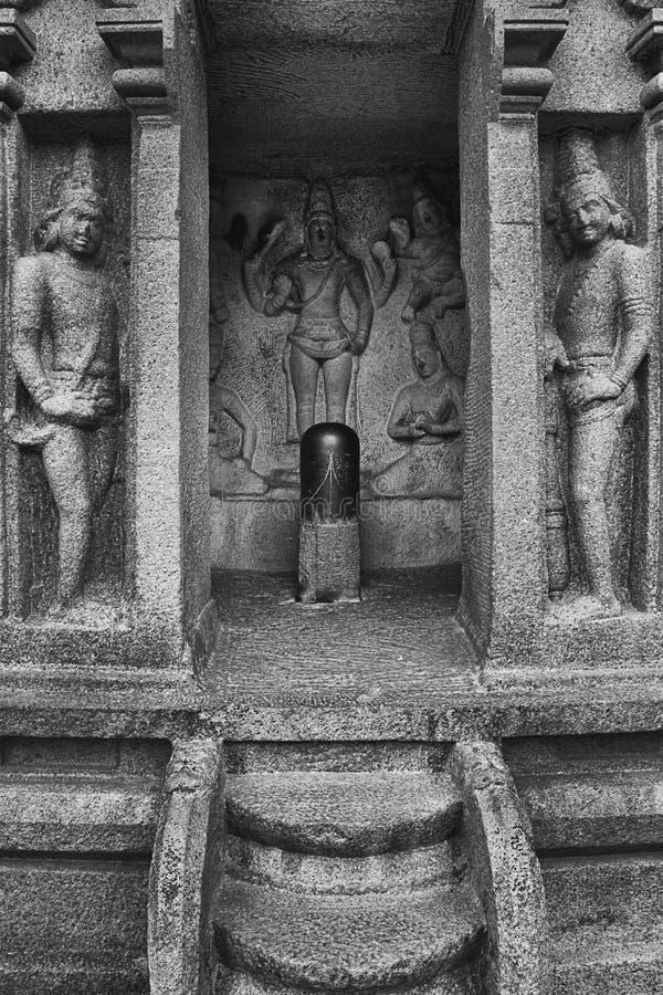 Chambre de vishnu de seigneur dans la boule de beurre du ` s de krishna photographie stock