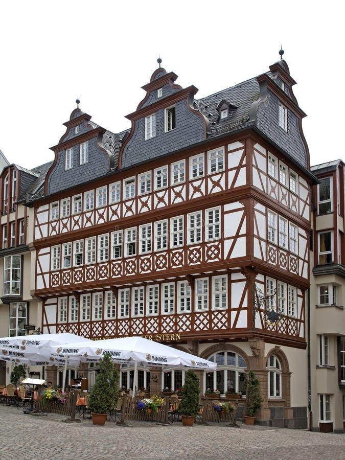 Chambre de Wertheim à Francfort sur Main photo stock