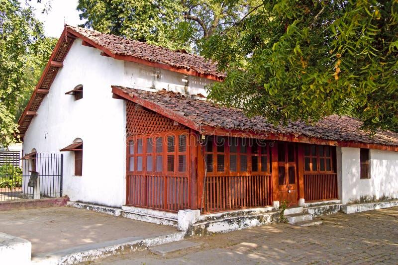 Chambre des disciples de Gandhis de mahatma image libre de droits