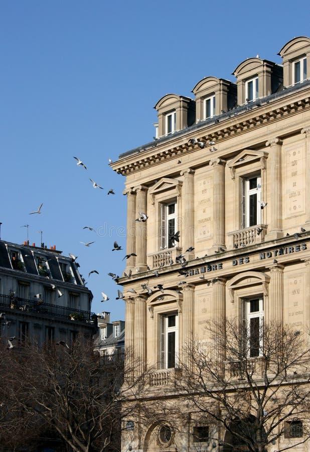 Chambre des Notaires, Paris stock image