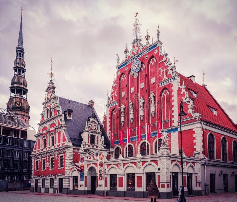 Chambre des points noirs Riga image stock