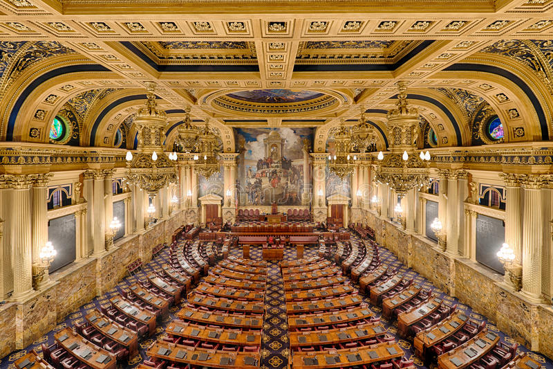 Chambre des représentants la chambre image stock