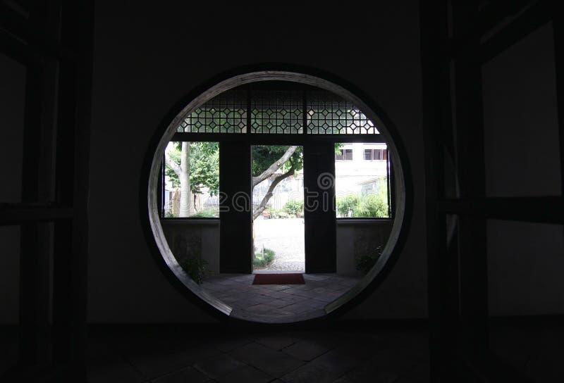 Chambre du ` s de mandarine de style chinois dans Macao photographie stock