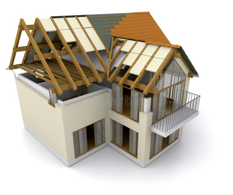 Chambre en construction illustration stock