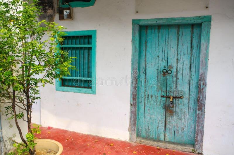 Chambre en George Town, Penang, Malaisie Exte méditerranéen de style photos stock