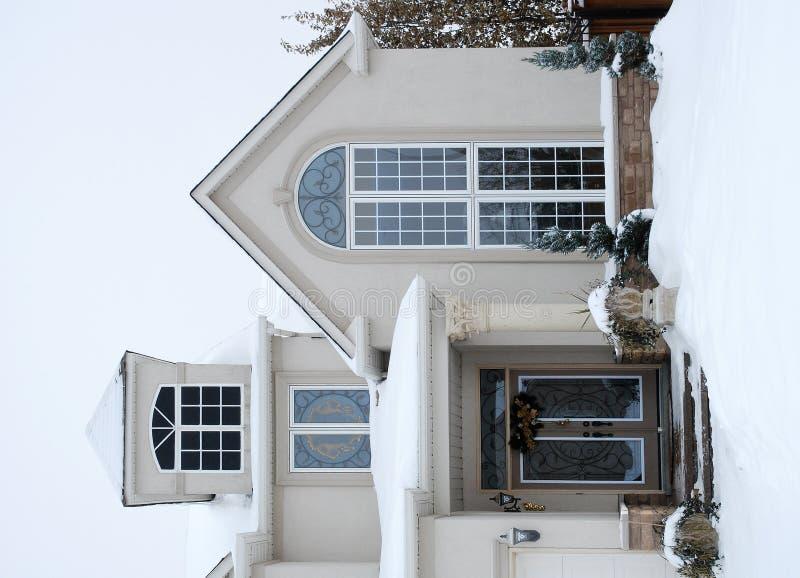 Chambre en hiver - croisement photographie stock